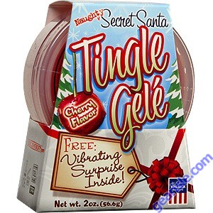 Secret Santa Tingle Gele-Cherry