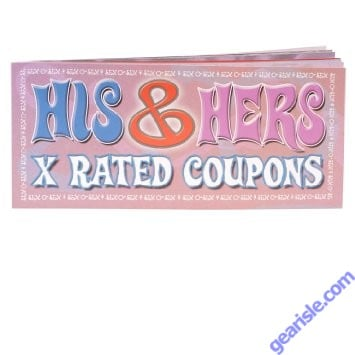 His & Hers X Rated Coupons