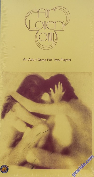 For Lovers Only An Adult Game For 2 Players