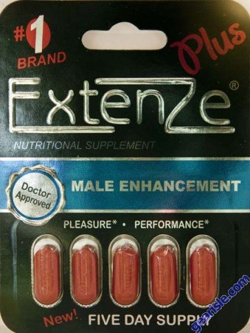 ExtenZe Plus Doctor Approved Male Enhancement Five Days Supply by Biotab Nutraceuticals Inc