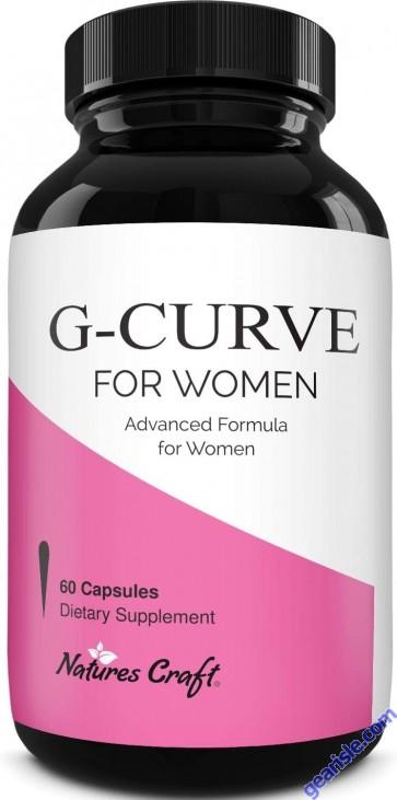 G-Curve Potent Butt Breast Enhancer Pills For Women 60ct