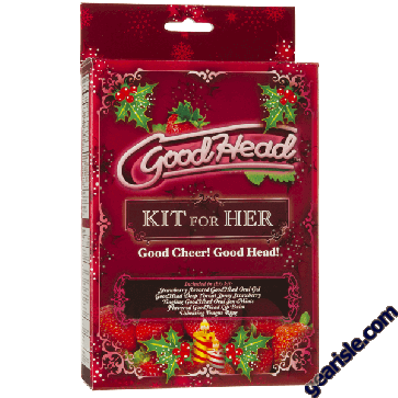 Flavored GoodHead lip balm will have your lips in prime pussy eating condition.