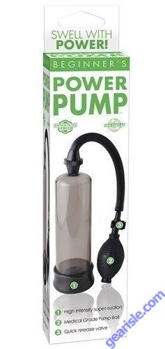 Beginner's Penis Power Pump Smoke Pipedream