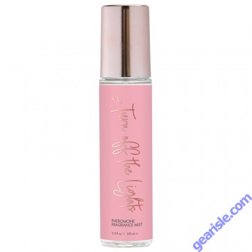 CG Body Mist With Pheromones Turn Off The Lights 3.5oz Lube