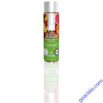 Jo H2O TROPICAL PASSION Flavored Personal Water Based Lubricant 4 Oz