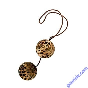The Leopard Duotone Balls Perfectly Weighted with Nylon Cord