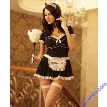 Sexy French Maid Costume 8512