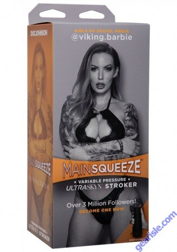 Main Squeeze™ - Girls of Social Media - @viking.barbie Pussy