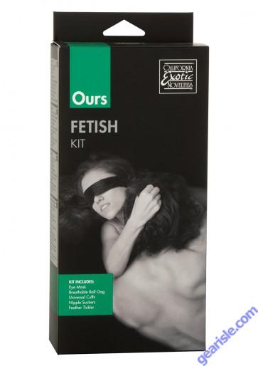Ours Fetish Play Kit Cal Exotic Novelties