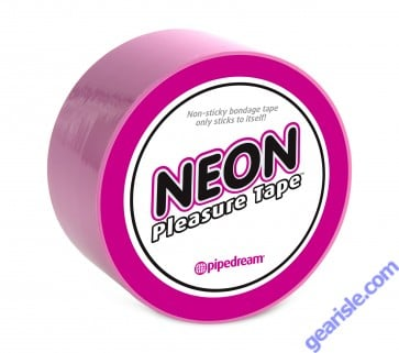 Neon Pleasure Tape Pink Non Sticky Bandage