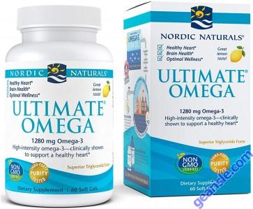 Nordic Naturals Ultimate Omega Lemon Flavor 5 Star