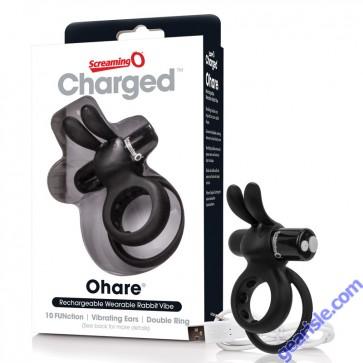 Charged Ohare Rabbit Vibe Black ScreamingO