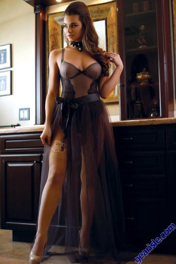 Sabrina Tulle Maxi Skirt Premiere FL1608