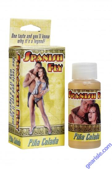 Spanish Fly Pina Colada Sex Liquid Drops Doc Johnson 1 fl Oz