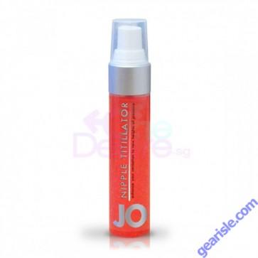 Jo Nipple Titillator Arousal Gel Strawberry 1 fl. oz