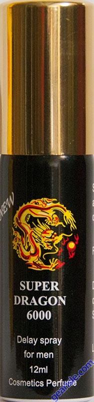 Super Dragon 6000 Delay Spray for Men by