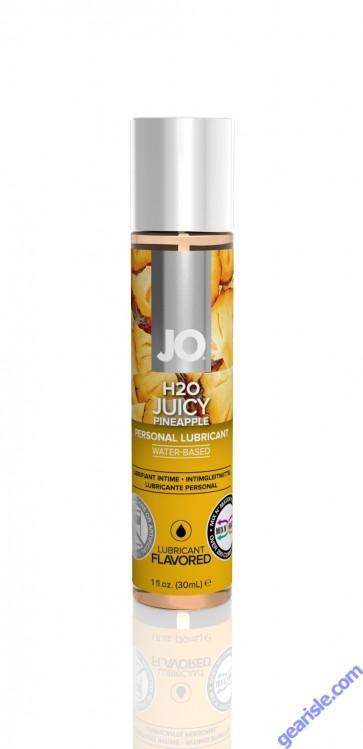 Jo H2O Juicy Pineapple Lubricant 1 fl.oz/ 30ml Travel Size