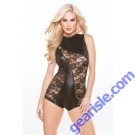 Lace Wet Look Jumper Kitten-Boxed 10-8602K