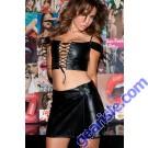 Leather School Girl Skirt 13-500