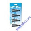 Passion Packs for Him Cream 0.34 fl. oz Each