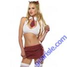 "Dreamgirl 3773 ""Extra Credit Schoolgirl"" Costume Lingerie"