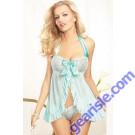 Fantasy Nightwear Sexy Babydoll Blue Beauty Lingerie 5226