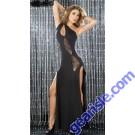 Fashion Long Dress Uniform Latin Dance Women Clothing Girls Club Wear 59781