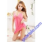Women Sexy Babydoll Nighty 6676 Lingerie 3 Piece