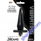 Vibrating Anal Probe Black Wet Dreams