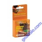 Trustex Chocolate Flavored 3 Lubricated Latex Condoms