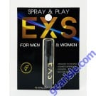 EXS Revitalizer Spray Play For Men Women 1.5mL Pack