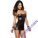 Dreamgirl 8669 Shiny Stretch Knit Strapless Dress