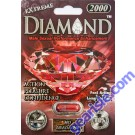 Diamond Extreme Male Sexual Performance Enhancement Ruby Red Pills 2000mg by Diamond Premium
