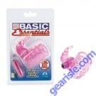 CalExotic Basic Essentials Stretchy Vibrating Bunny Enhancer Water Proof
