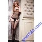 Lady's Killer Legs Fishnet Body Stocking 818JT047 Yelete Group Lingerie