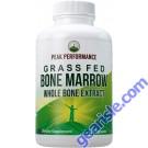 Grass-Fed Bone Marrow - Whole Bone Extract Supplement 180 Capsules