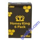 Honey King 5000 Male Enhancement Vita Max Organic 6 Sachet Pack