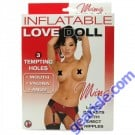 Nasstoys Inflatable Ming Love Doll 3 Tempting Holes