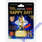 Oh Happy Day Diamond 5000 10 Days For Men Natural Libido Enhancer 1 Capsule