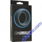 OptiMALE C- Ring 55mm Silicone Black Doc Johnson