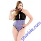 Lolita Micro Lace Teddy Curve P206