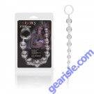 Anal Platinum X-10 Beads Silver Color Cal Exotics