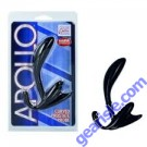 Apollo Curved Prostate Probe Black Cal Exotic Novelties