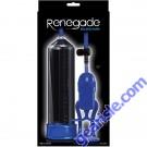 Renegade Bolero Penis Pump Blue Male Enhancement