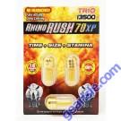 Rhino Rush 70 Trio 13000 Male Sexual Enhancer Pill