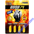 Rush 74 Gold 17000 Male Enhancement Pill