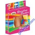 Rainbow Pecker Huggie Cock Sock