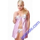 Style 5069 Charmeuse Babydoll Lilac