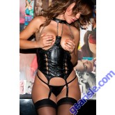 Leather Chain Corselet 11-200