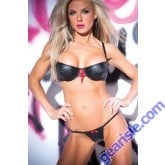 Faux Leather Racy Ribbon Set 12-2402
